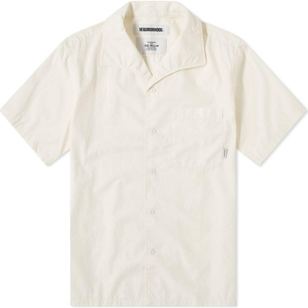 ネイバーフッド Neighborhood メンズ 半袖シャツ トップス【short sleeve stroke shirt】White