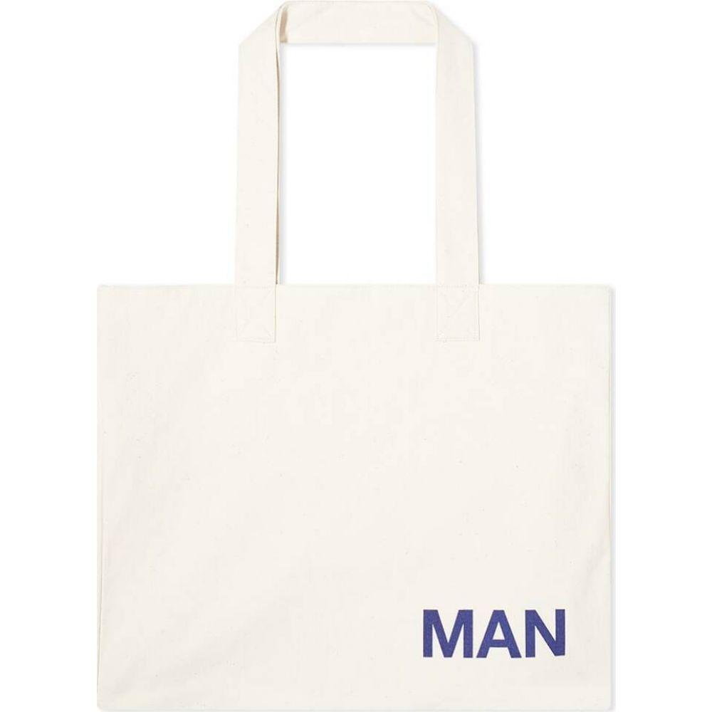 ジュンヤ ワタナベ Junya Watanabe MAN メンズ トートバッグ バッグ【large tote】Natural/Navy