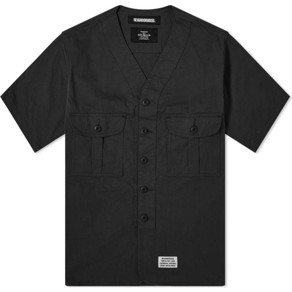 ネイバーフッド Neighborhood メンズ 半袖シャツ トップス【short sleeve scout shirt】Black