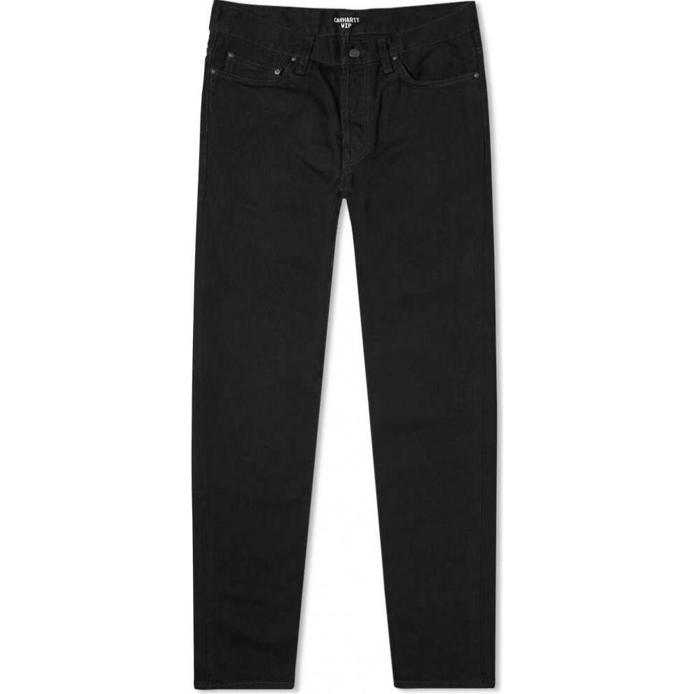カーハート Carhartt WIP メンズ ジーンズ・デニム ボトムス・パンツ【klondike regular tapered jean】Black