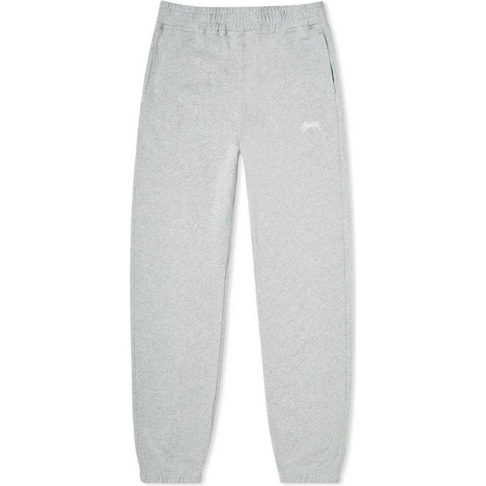 ステューシー Stussy メンズ スウェット・ジャージ ボトムス・パンツ【stock fleece pant】Grey Heather