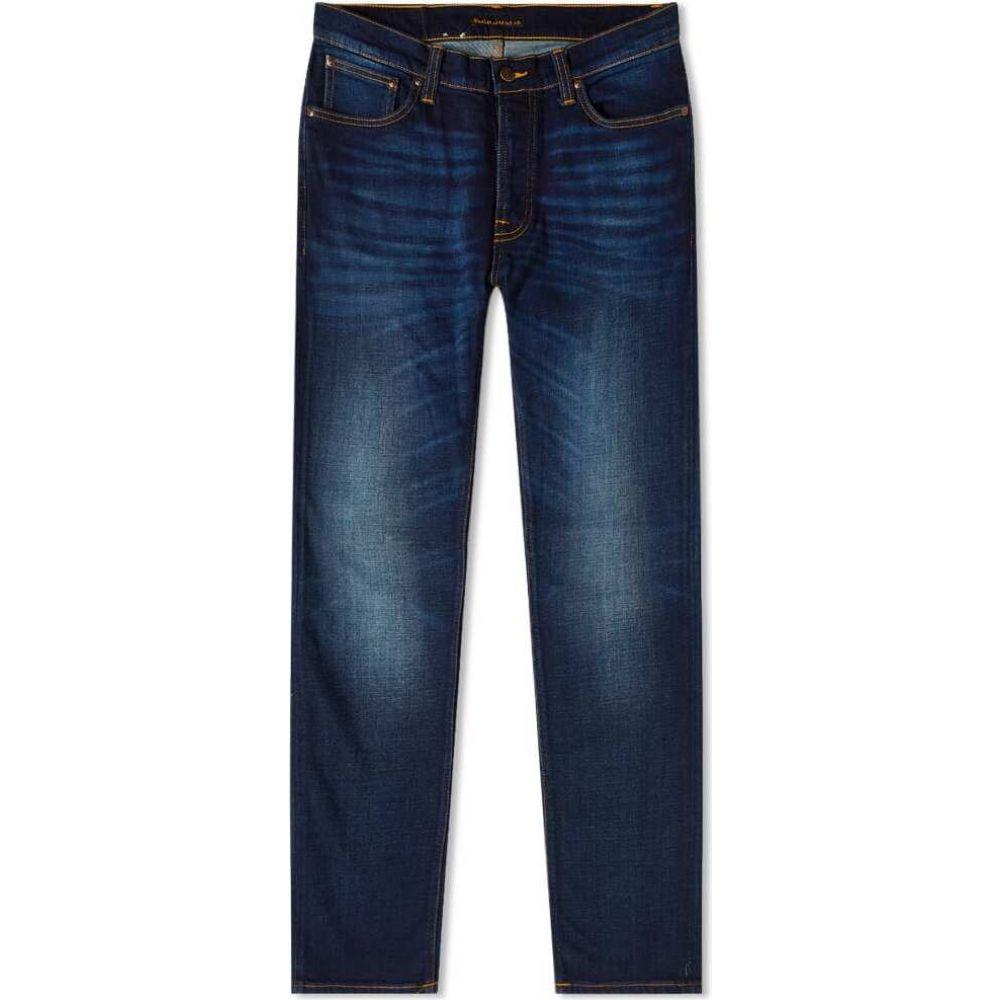 ヌーディージーンズ Nudie Jeans Co メンズ ジーンズ・デニム ボトムス・パンツ【nudie dude dan jean】Dark Deep Worn