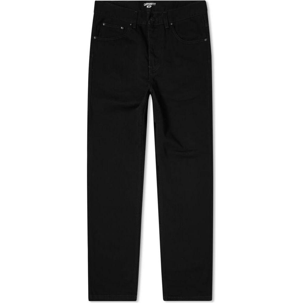 カーハート Carhartt WIP メンズ ジーンズ・デニム ボトムス・パンツ【newel relaxed tapered jean】Black