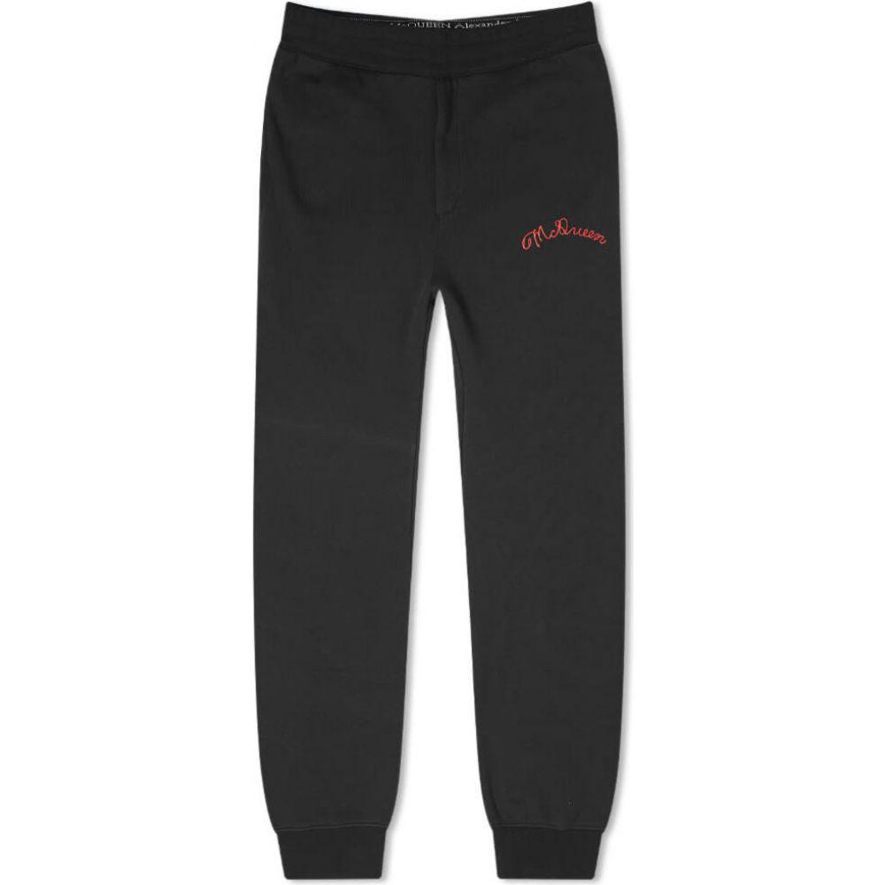 アレキサンダー マックイーン Alexander McQueen メンズ ジョガーパンツ ボトムス・パンツ【logo jogger】Black