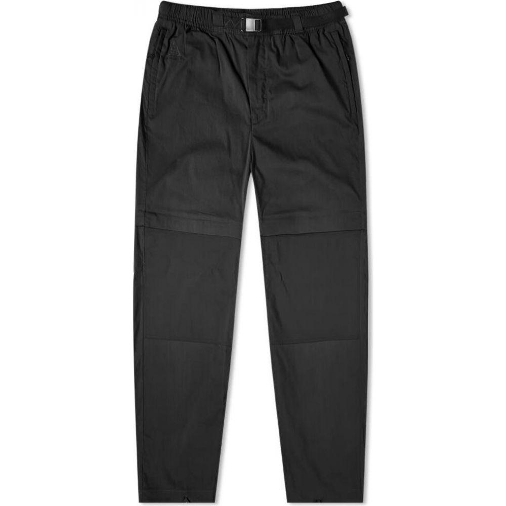 ナイキ Nike メンズ スウェット・ジャージ ボトムス・パンツ【acg convertible pant】Black/Neptune Green