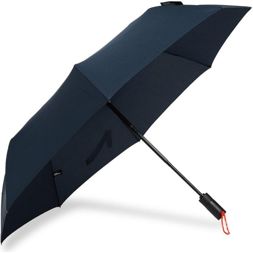 ロンドンアンダーカバー London Undercover メンズ 傘 【auto-compact umbrella】Navy/Neon