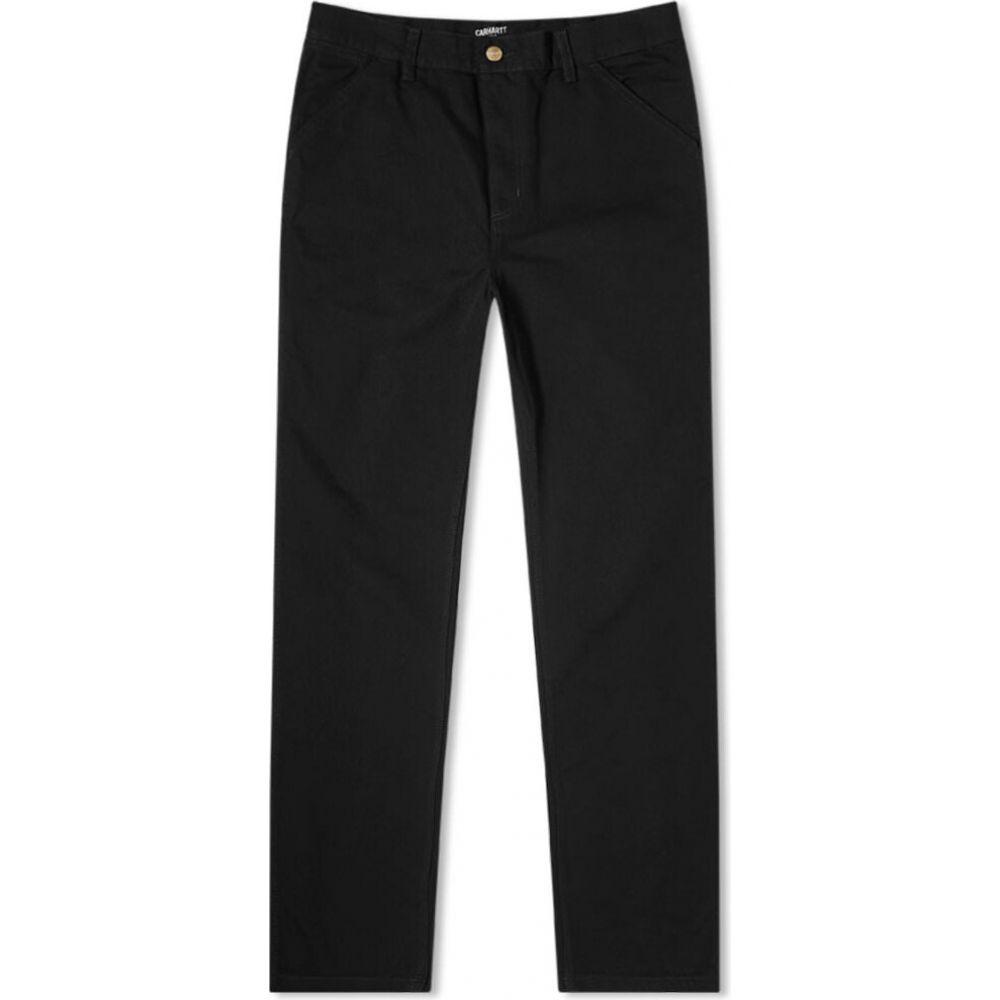 <title>カーハート メンズ ボトムス パンツ ジーンズ デニム ランキング総合1位 Black サイズ交換無料 Carhartt WIP single knee pant</title>