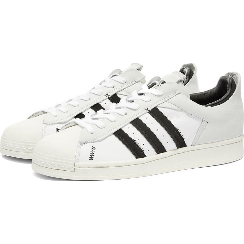 アディダス Adidas メンズ スニーカー シューズ・靴【superstar reverse】White/Core Black/Off White