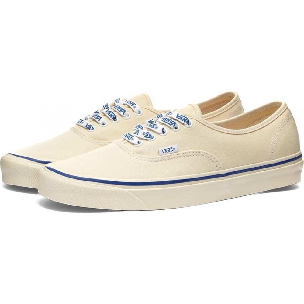 ヴァンズ Vans メンズ スニーカー シューズ・靴【authentic 44 dx lace】White/Vans Lace