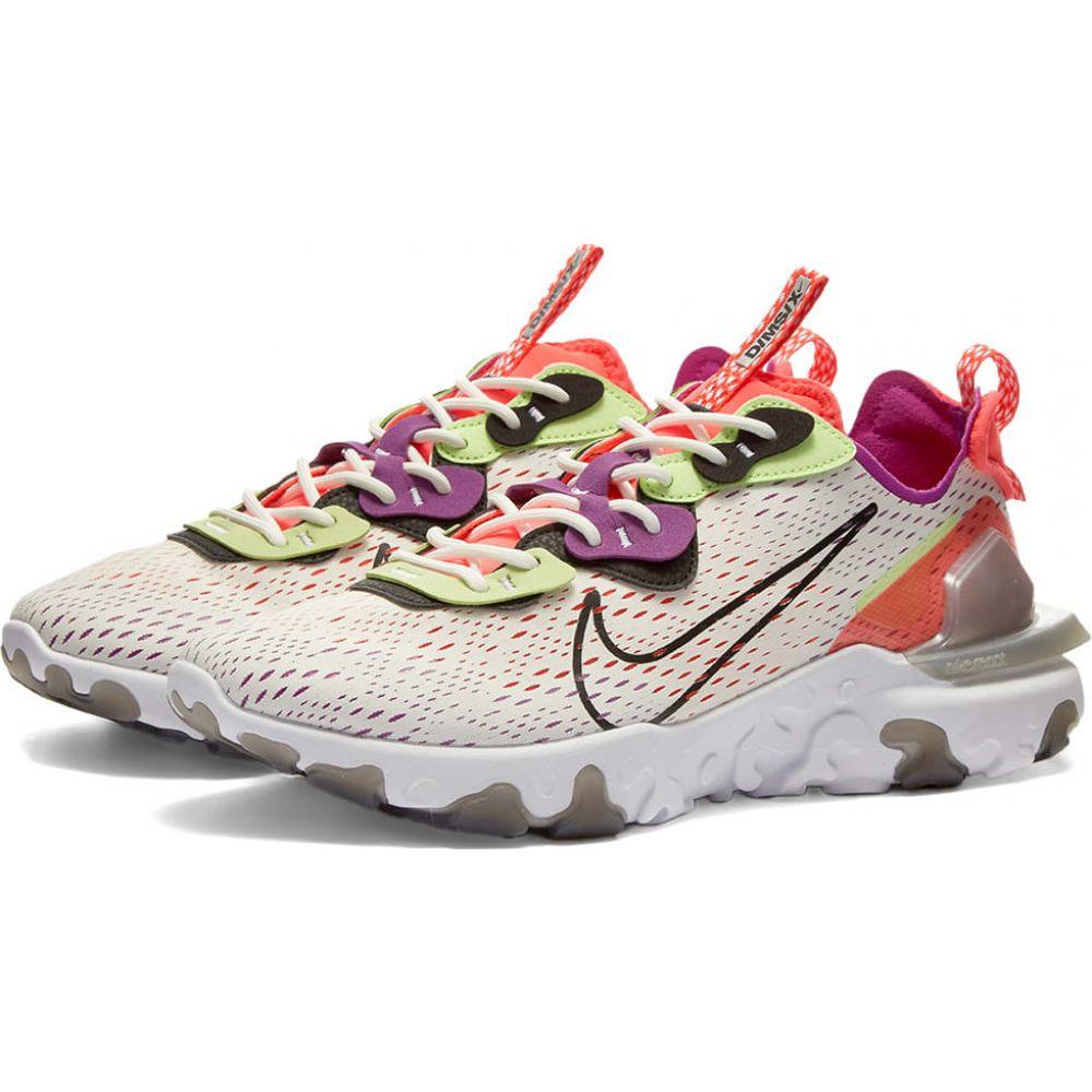 ナイキ Nike メンズ スニーカー シューズ・靴【react vision】White/Black/Crimson/Purple