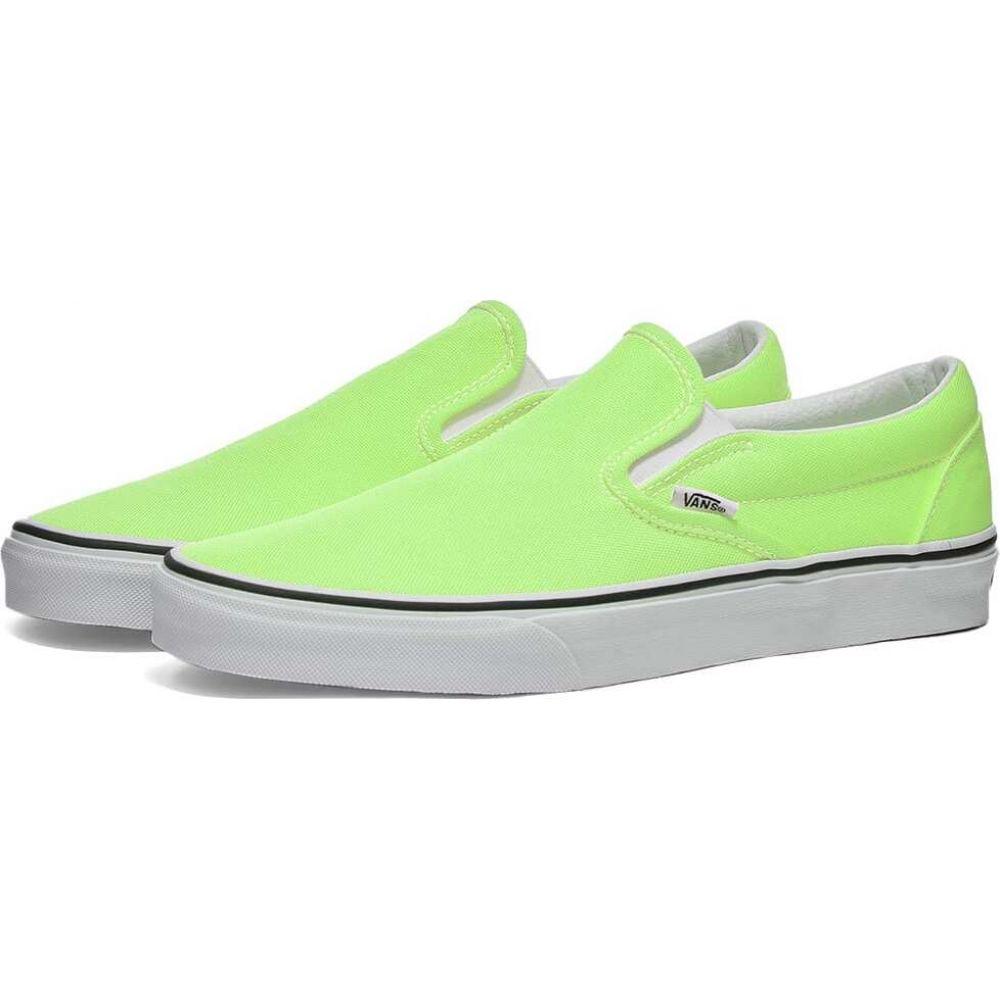 ヴァンズ Vans メンズ スリッポン・フラット シューズ・靴【ua classic slip-on】Green Gecko/True White
