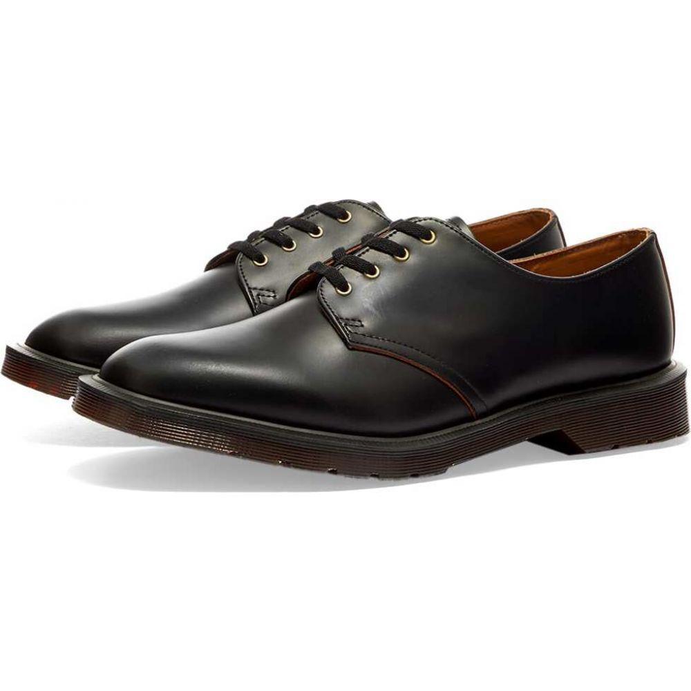 ドクターマーチン Dr Martens メンズ シューズ・靴 【dr. martens smiths 4-eye shoe】Black Vintage Smooth