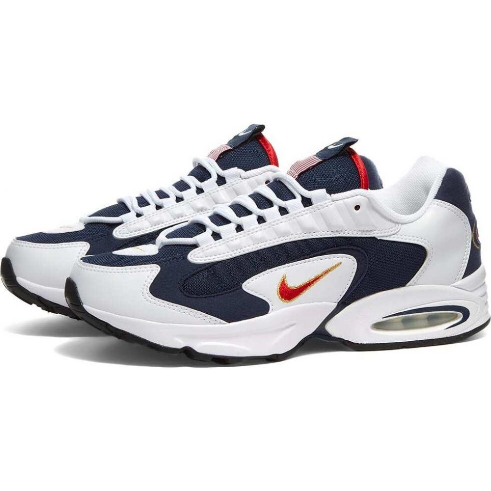 ナイキ Nike メンズ スニーカー シューズ・靴【air max triax usa】Navy/Red/White/Gold