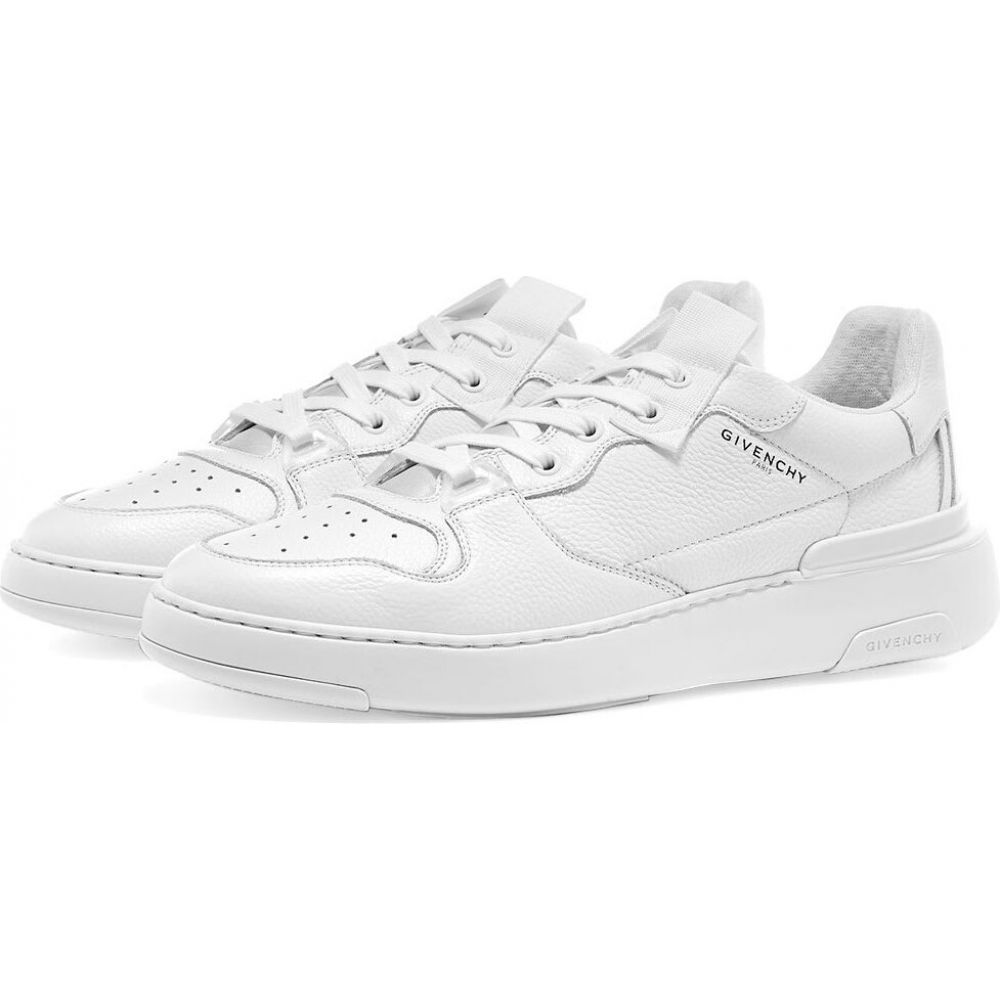 ジバンシー Givenchy メンズ スニーカー ローカット シューズ・靴【wing low sneaker】White