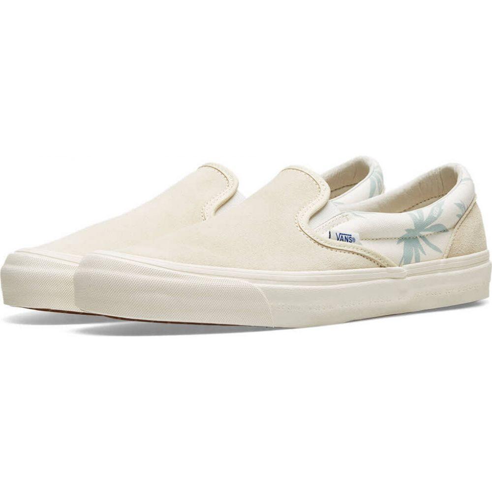 バンズ ボルト Vans Vault メンズ スリッポン・フラット シューズ・靴【x modernica og classic slip-on lx】Seed Pear/Palm Leaf