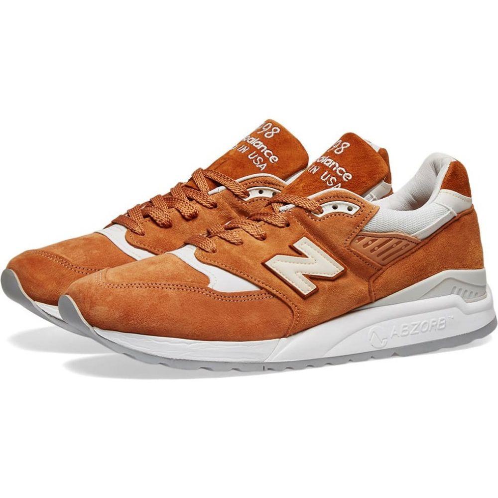 ニューバランス New Balance メンズ スニーカー シューズ・靴【m998tcc - made in the usa】Burnt Orange