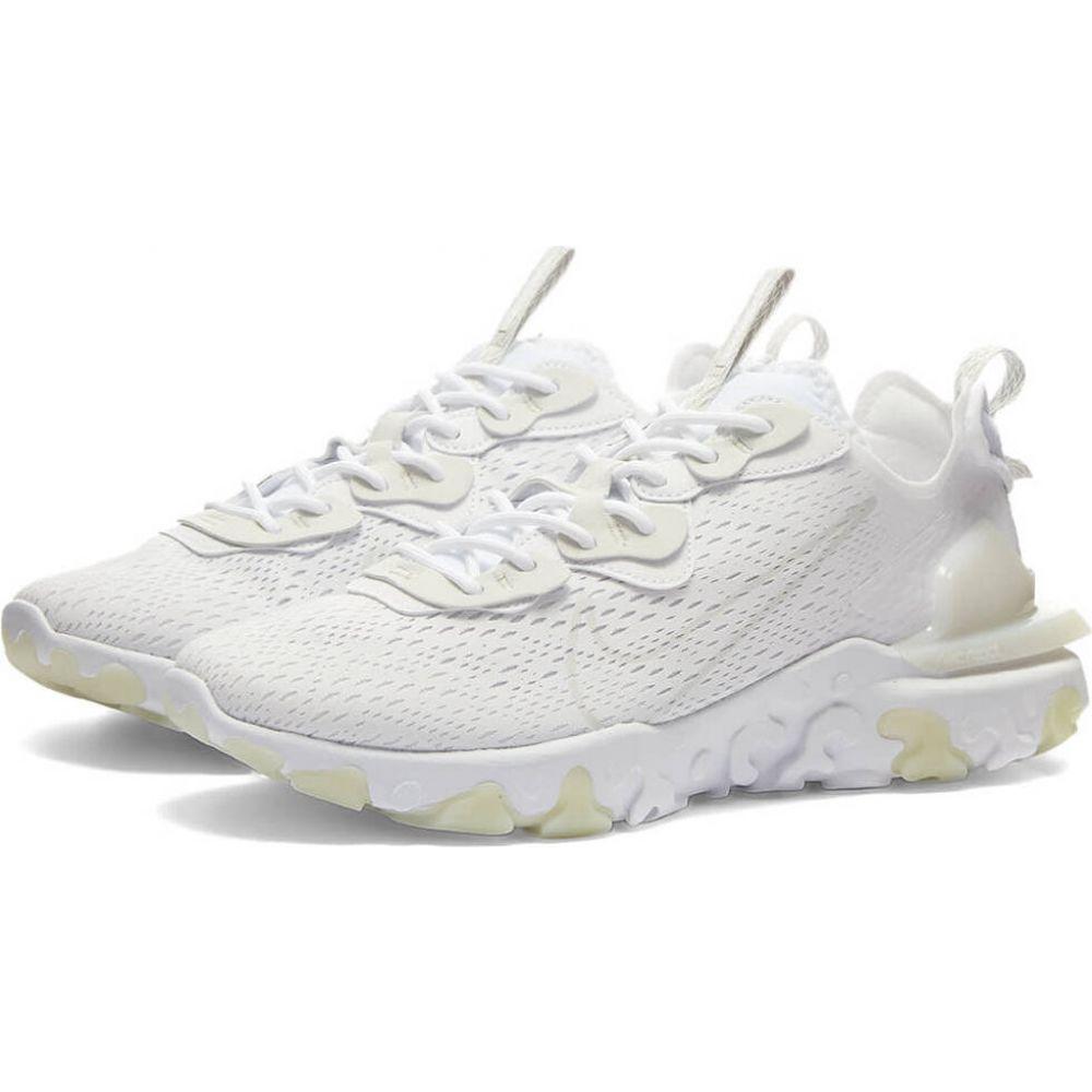 ナイキ Nike メンズ スニーカー シューズ・靴【react vision】White/Light Smoke Grey