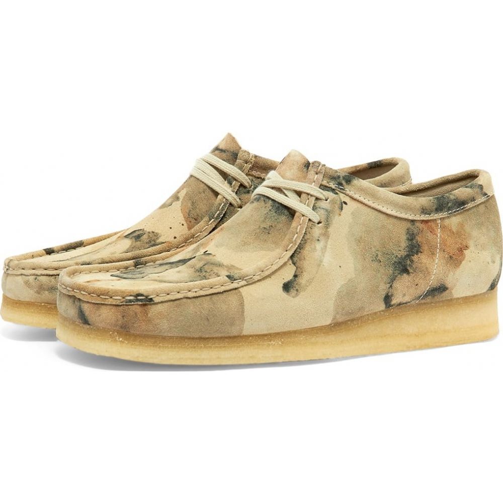 クラークス Clarks Originals メンズ シューズ・靴 【wallabee】Off White Camo