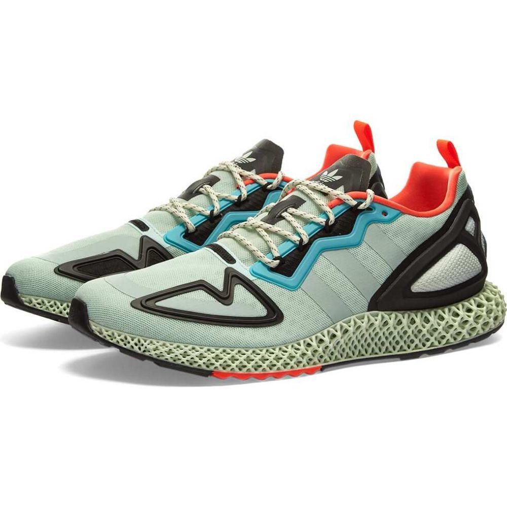 アディダス メンズ シューズ 靴 スニーカー Dash 特価キャンペーン Green Raw 人気 サイズ交換無料 Tint Adidas zx 4d 2k