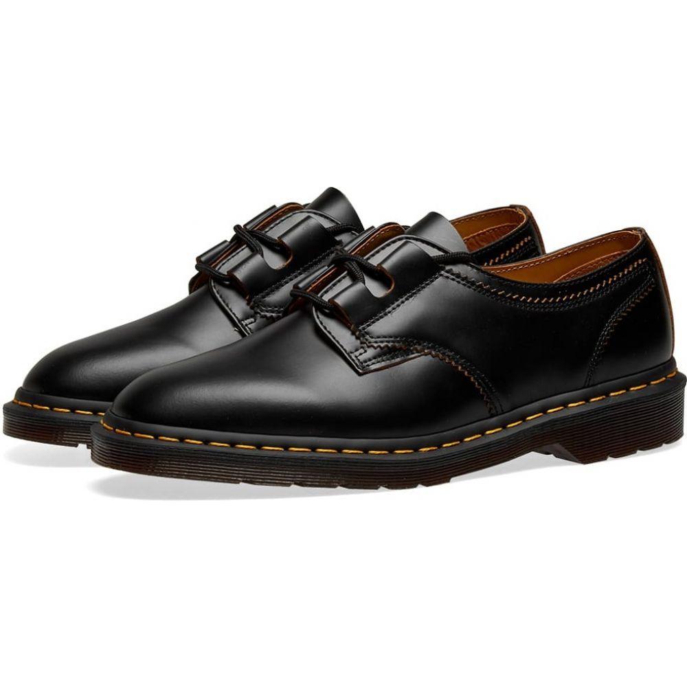ドクターマーチン Dr Martens メンズ シューズ・靴 【dr. martens 1461 ghillie shoe】Black Vintage Smooth