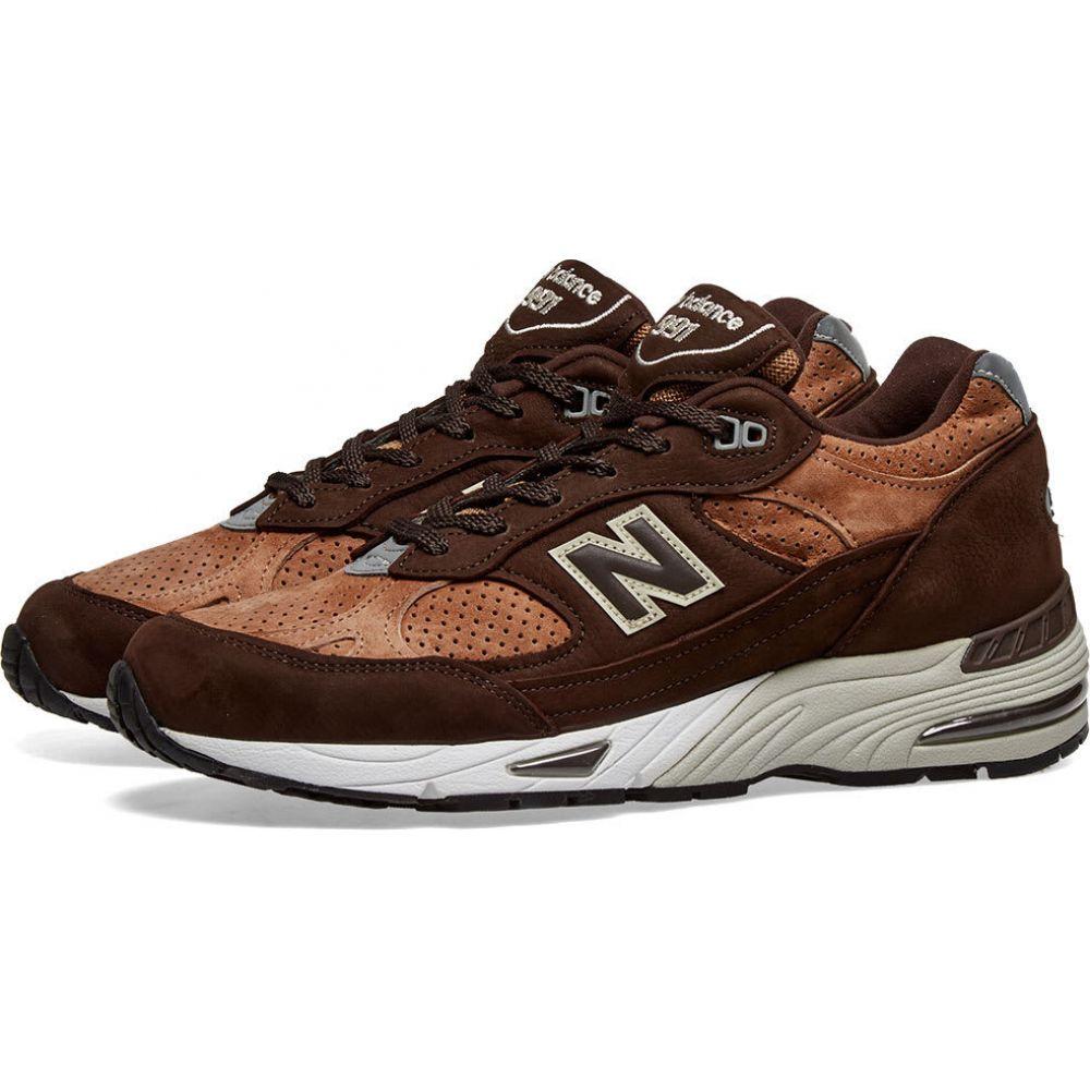 ニューバランス New Balance メンズ スニーカー シューズ・靴【m991dbt - made in england】Dark Brown/Tan
