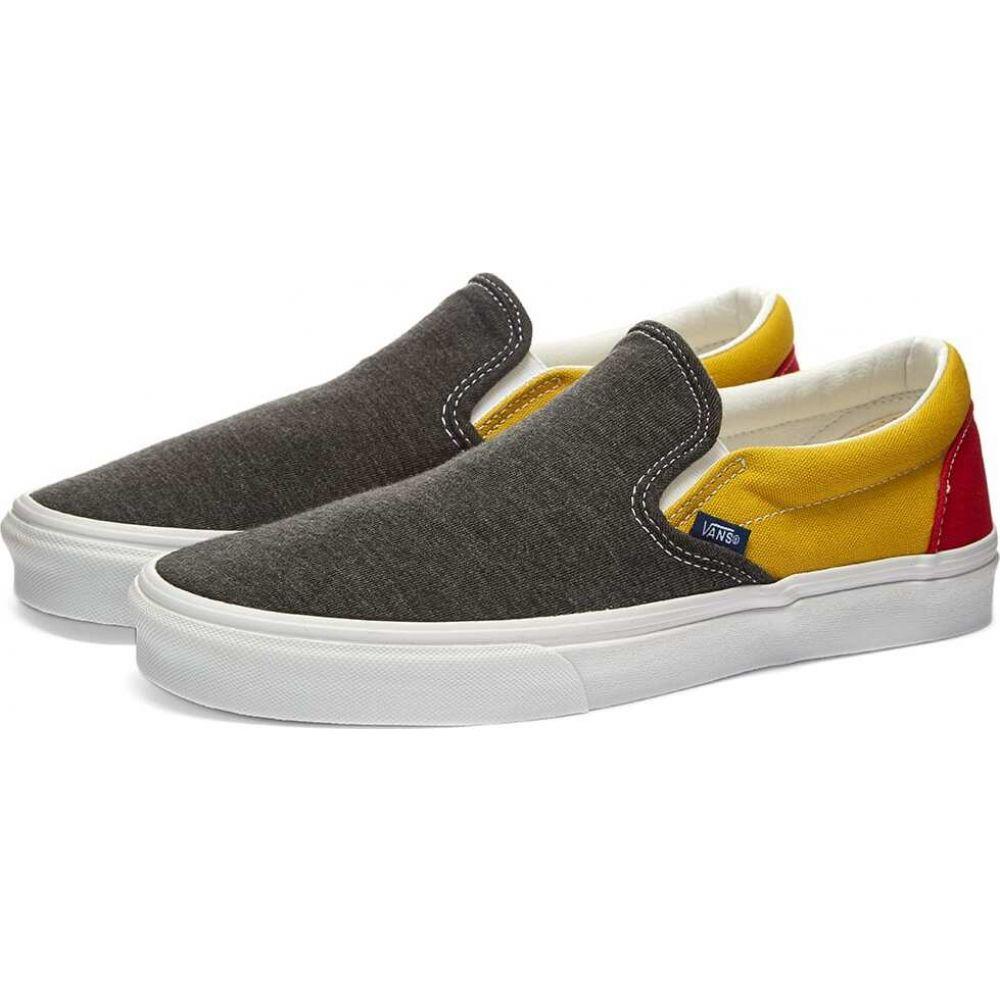ヴァンズ Vans メンズ スリッポン・フラット シューズ・靴【ua classic slip-on】Vans Coastal Black/White
