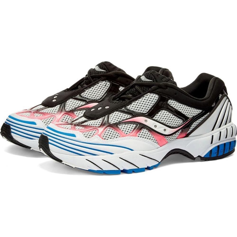 サッカニー Saucony メンズ スニーカー シューズ・靴【grid web】White/Pink/Blue