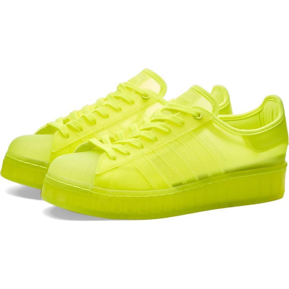 アディダス Adidas メンズ スニーカー シューズ・靴【superstar bold】Yellow