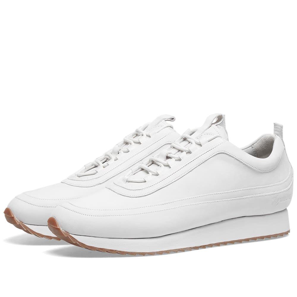 グレンソン Grenson メンズ シューズ・靴 スニーカー【Sneaker 12】White Nubuck