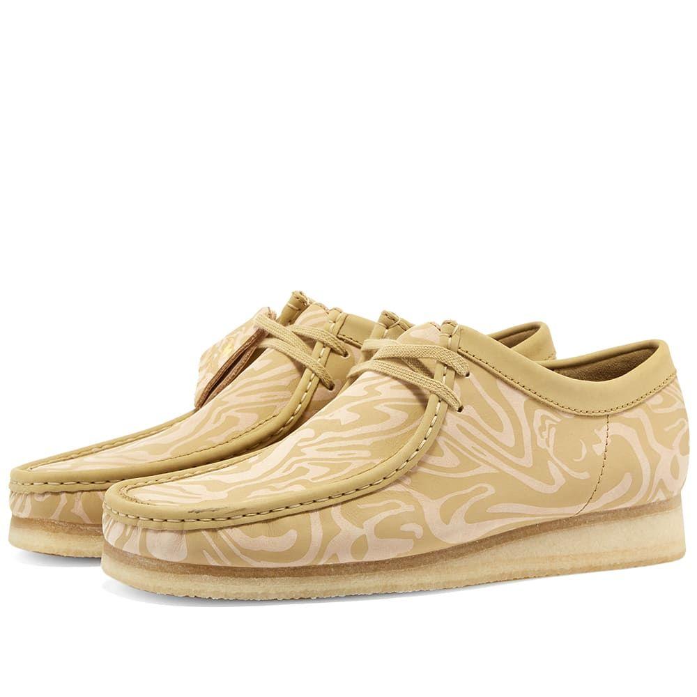 クラークス Clarks Originals メンズ ブーツ シューズ・靴【x wu wear wallabee boot】Maple