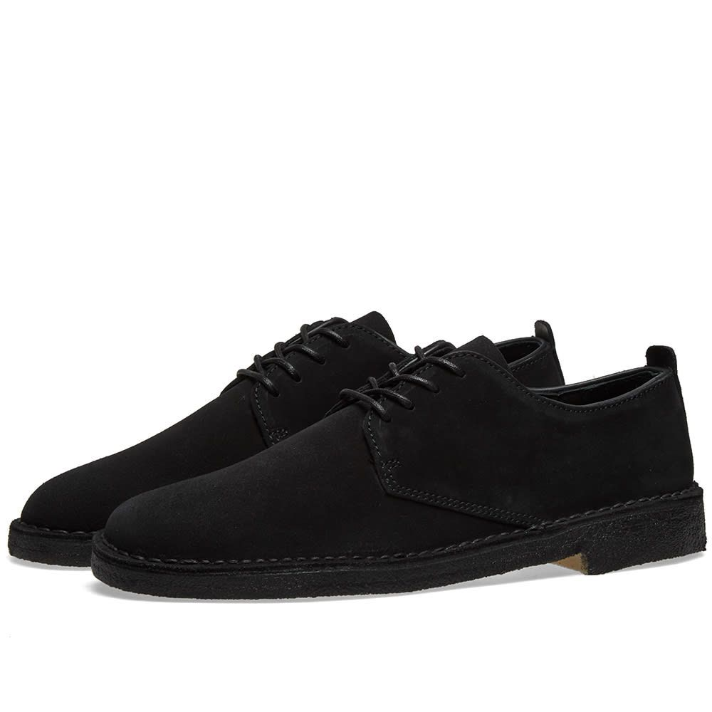 クラークス Clarks Originals メンズ シューズ・靴 【desert london】Black Suede