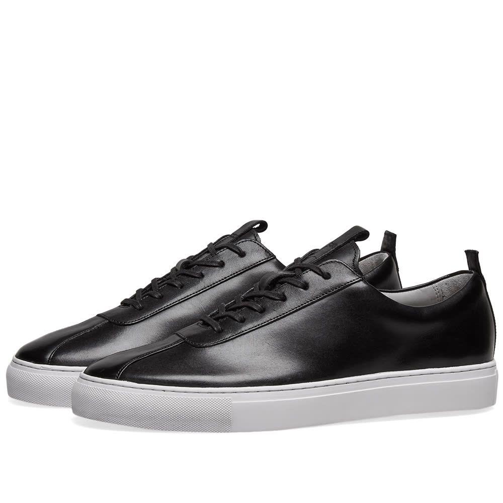 グレンソン Grenson メンズ シューズ・靴 スニーカー【Sneaker 1】Black Calf
