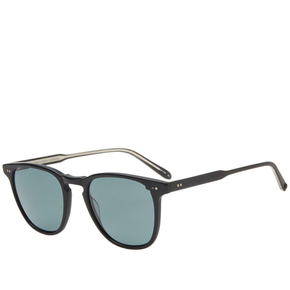 ギャレットライト Garrett Leight メンズ メガネ・サングラス【Brooks Sunglasses】Matte Black/Blue Smoke