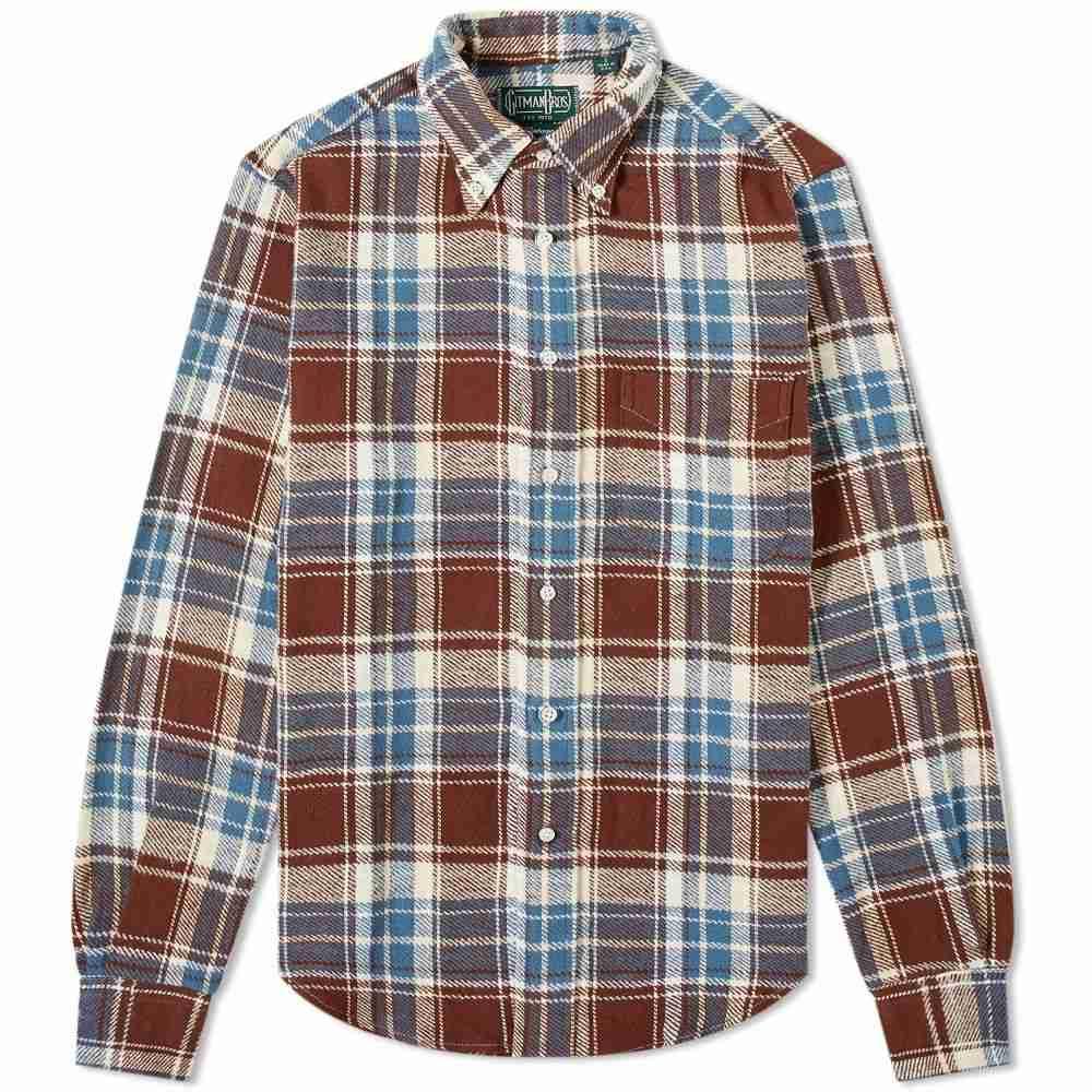 ギットマンヴィンテージ Gitman Vintage メンズ シャツ トップス【washington brushed triple yarn shirt】Multi