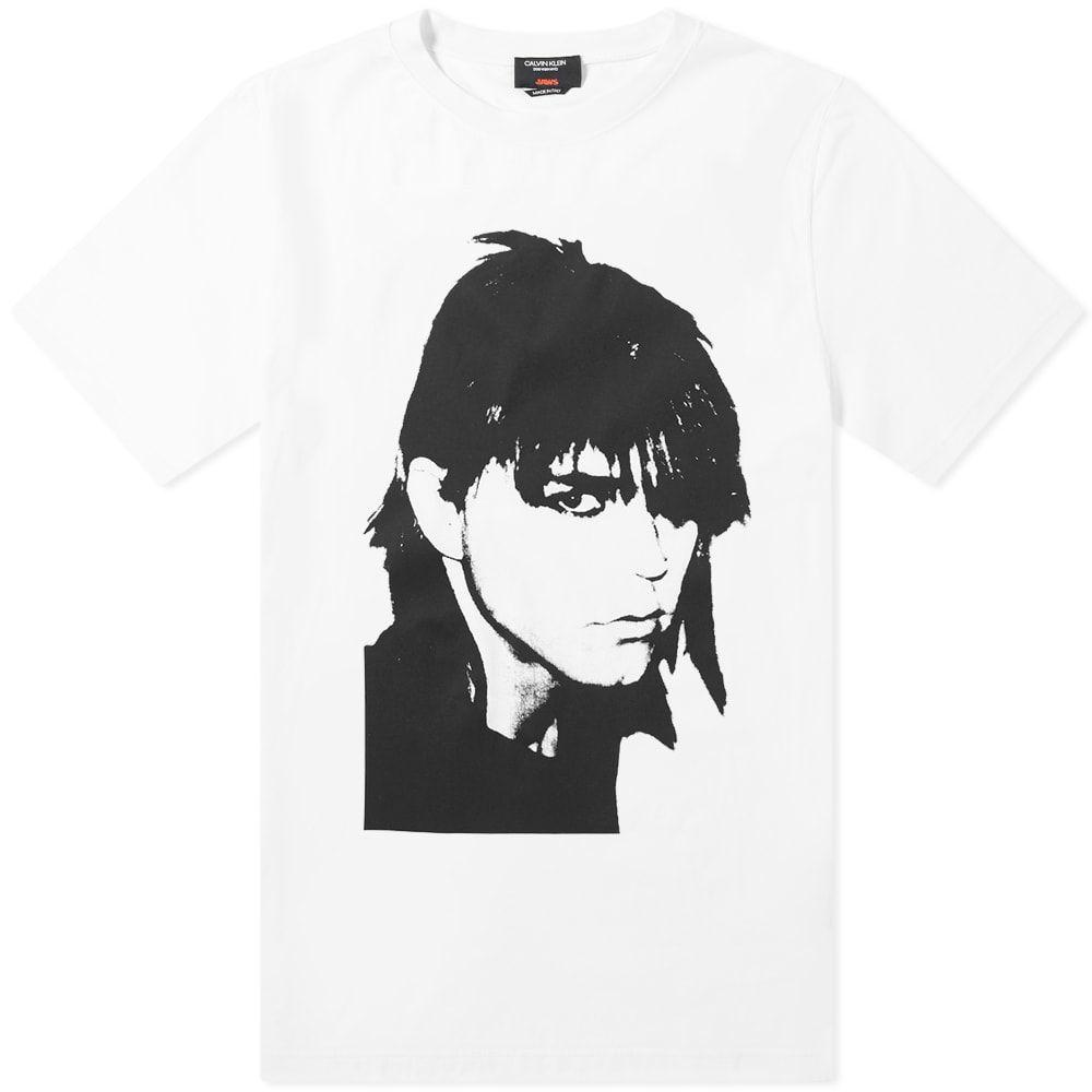 カルバンクライン Calvin Klein 205W39NYC メンズ Tシャツ トップス【stephen sprouse print tee】Optic White