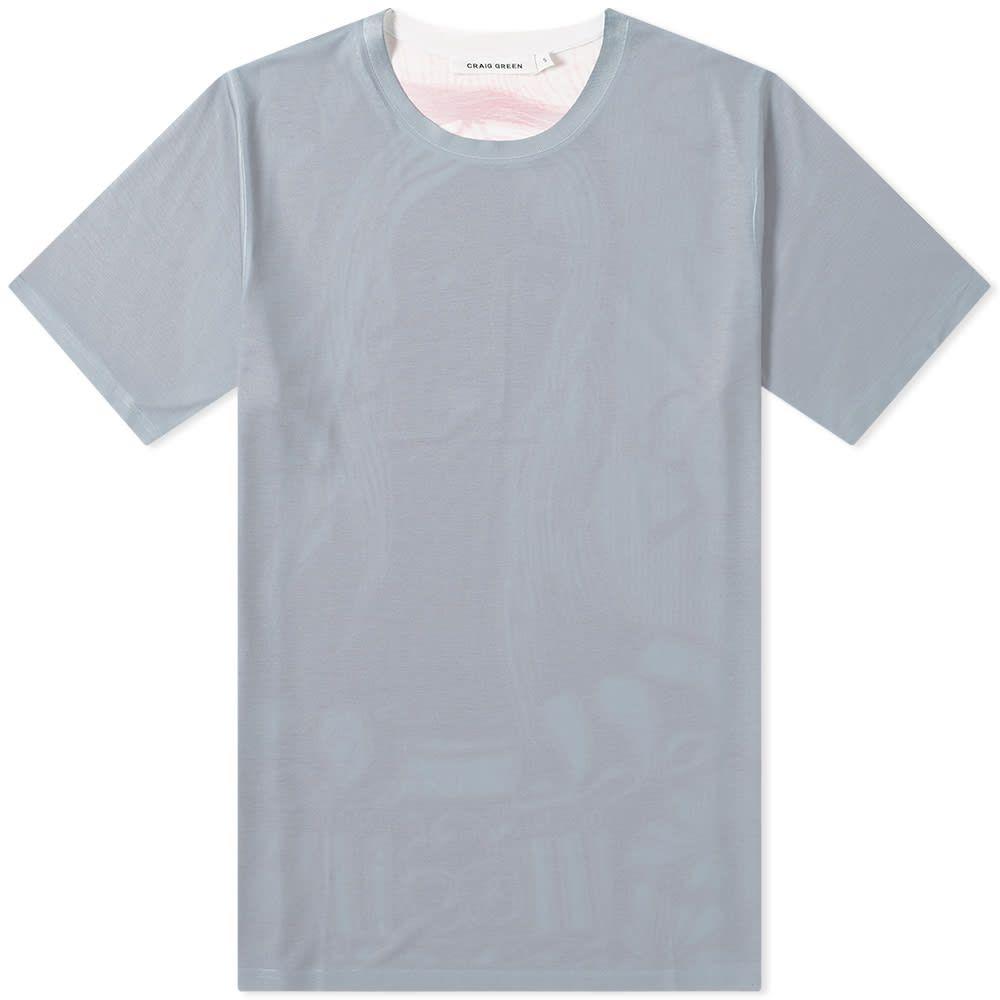 クレイググリーン Craig Green メンズ Tシャツ トップス【printed back tee】Pink