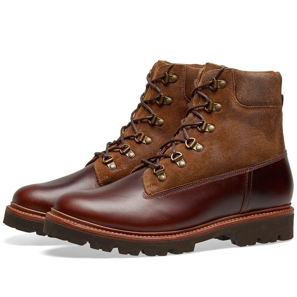 グレンソン Grenson メンズ シューズ・靴 ブーツ【Rutherford Boot】Chestnut Pull Up