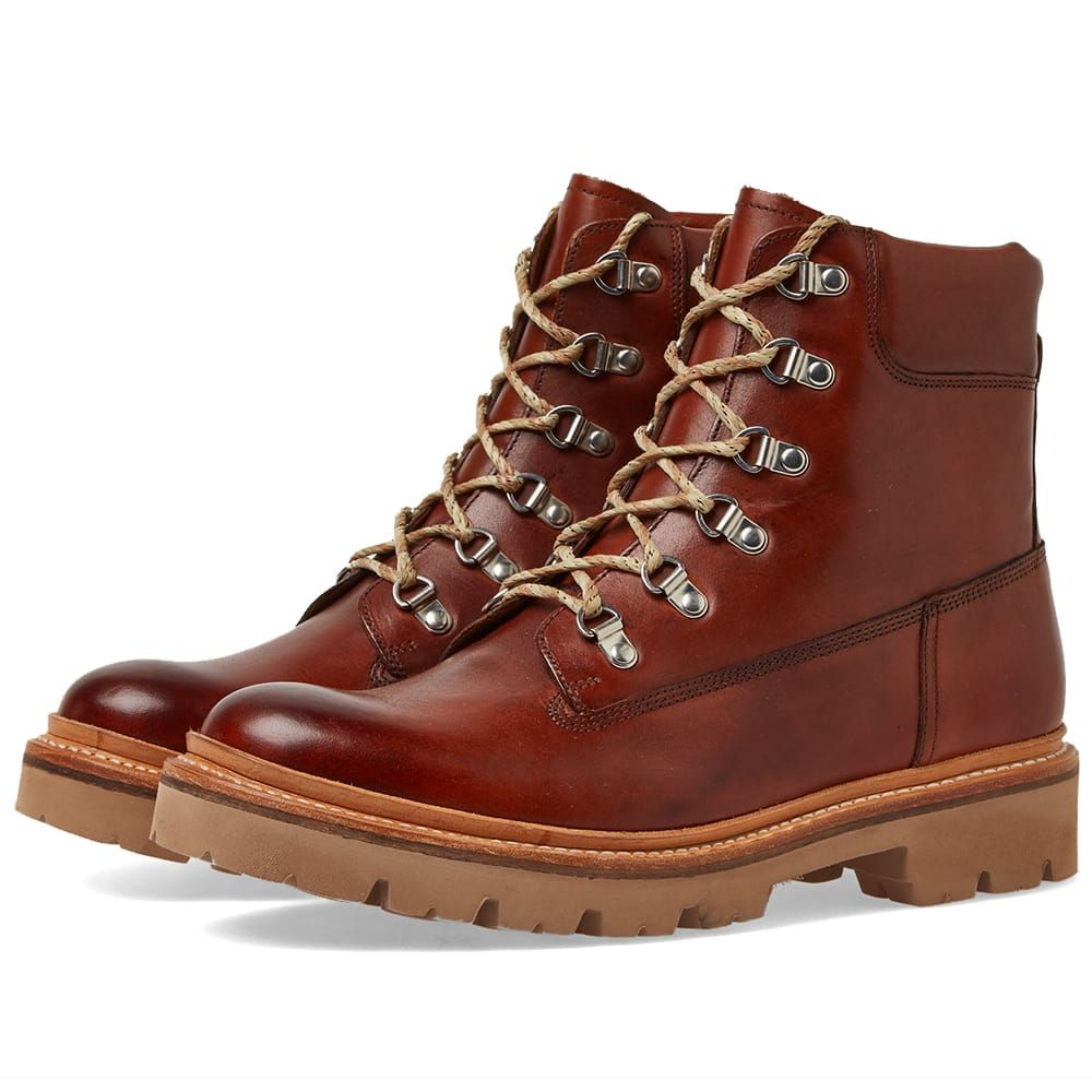 グレンソン Grenson メンズ シューズ・靴 ブーツ【Rutherford Boot】Tan Hand Painted Calf