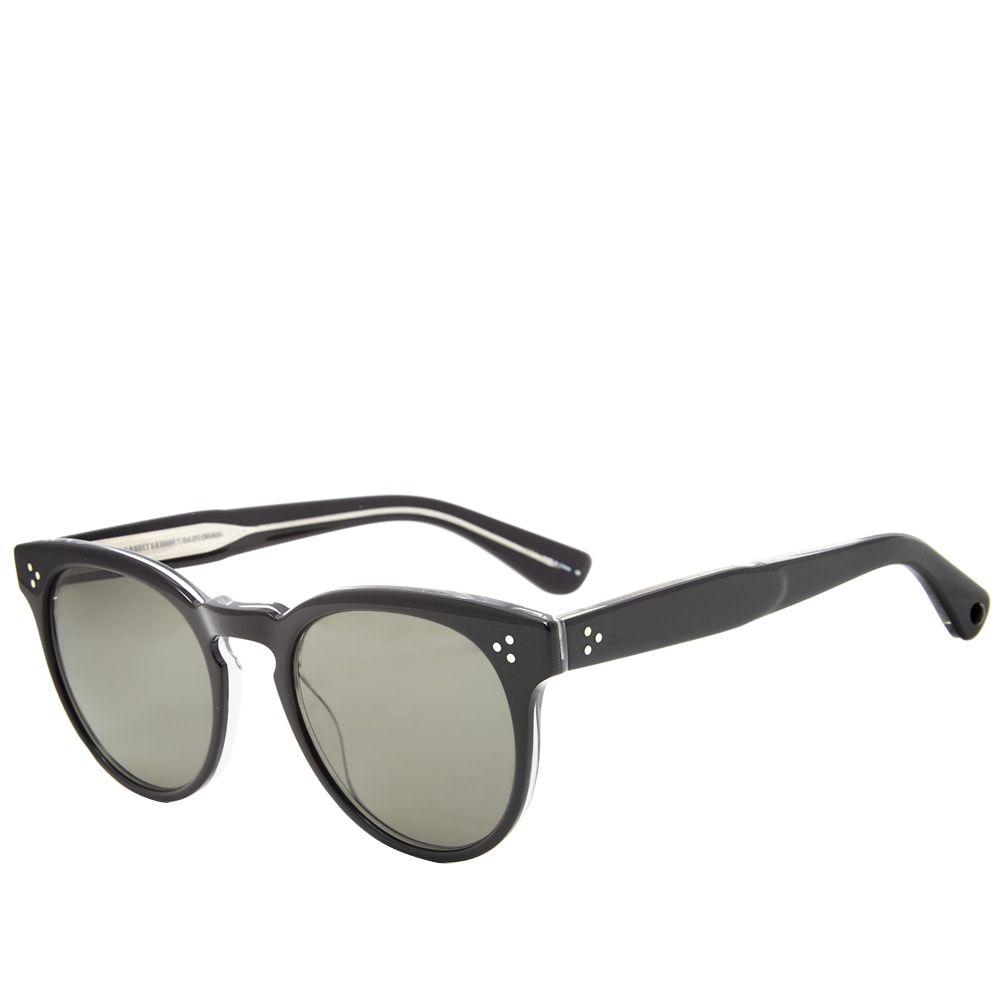 ギャレットライト Garrett Leight メンズ メガネ・サングラス【Boccaccio Sunglasses】Black Crystal/G-15
