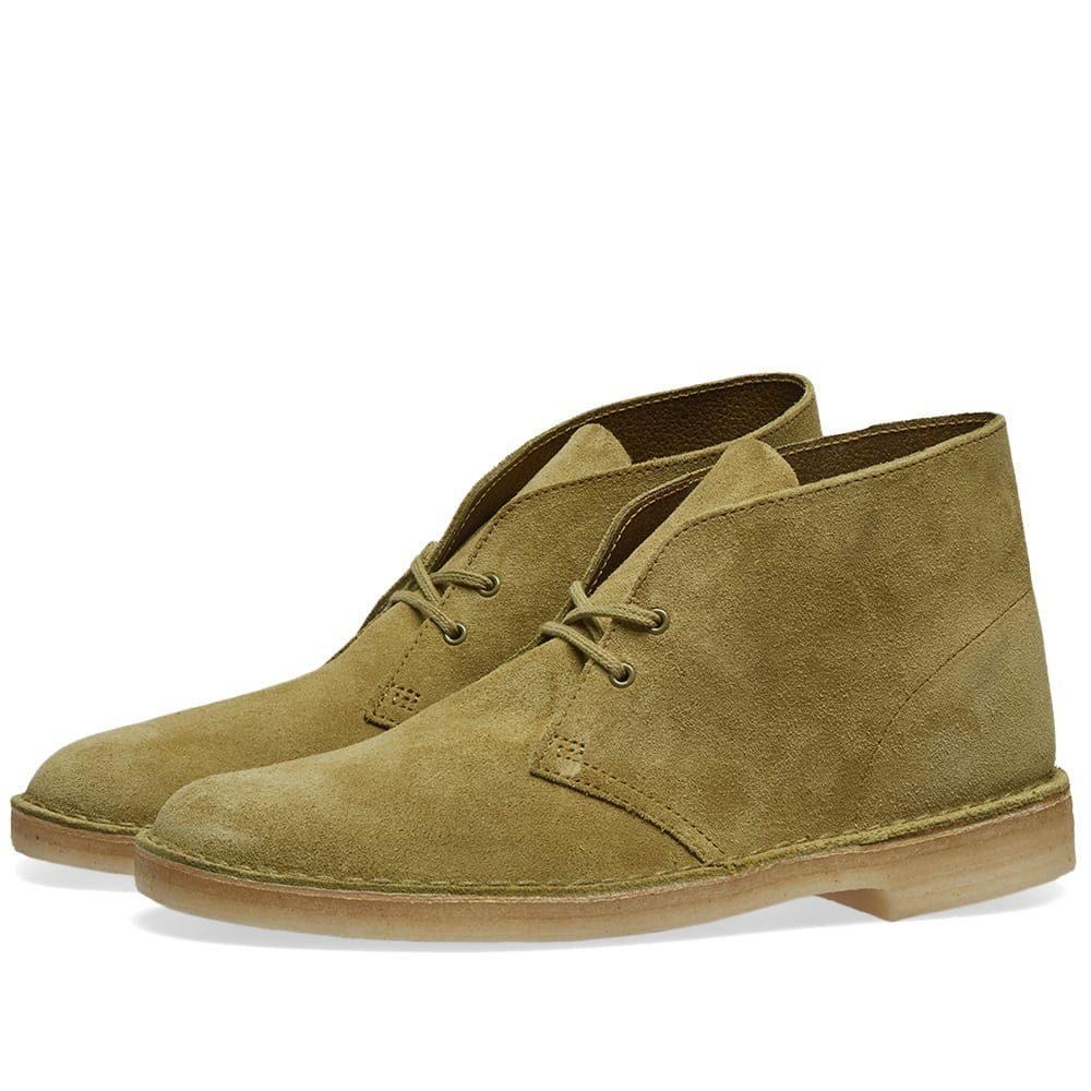クラークス Clarks Originals メンズ ブーツ シューズ・靴【desert boot】Khaki Suede