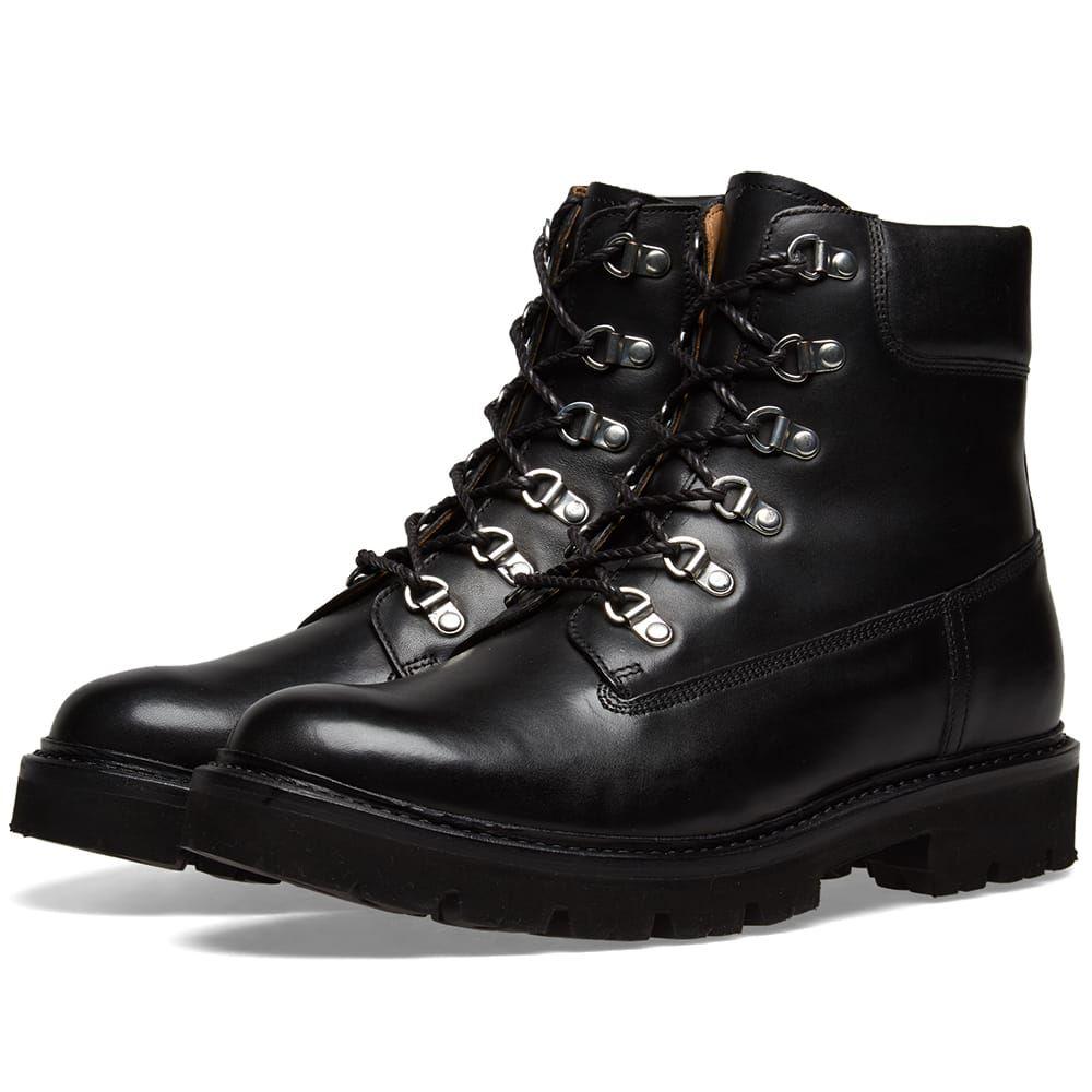 グレンソン Grenson メンズ シューズ・靴 ブーツ【Rutherford Boot】Black Calf