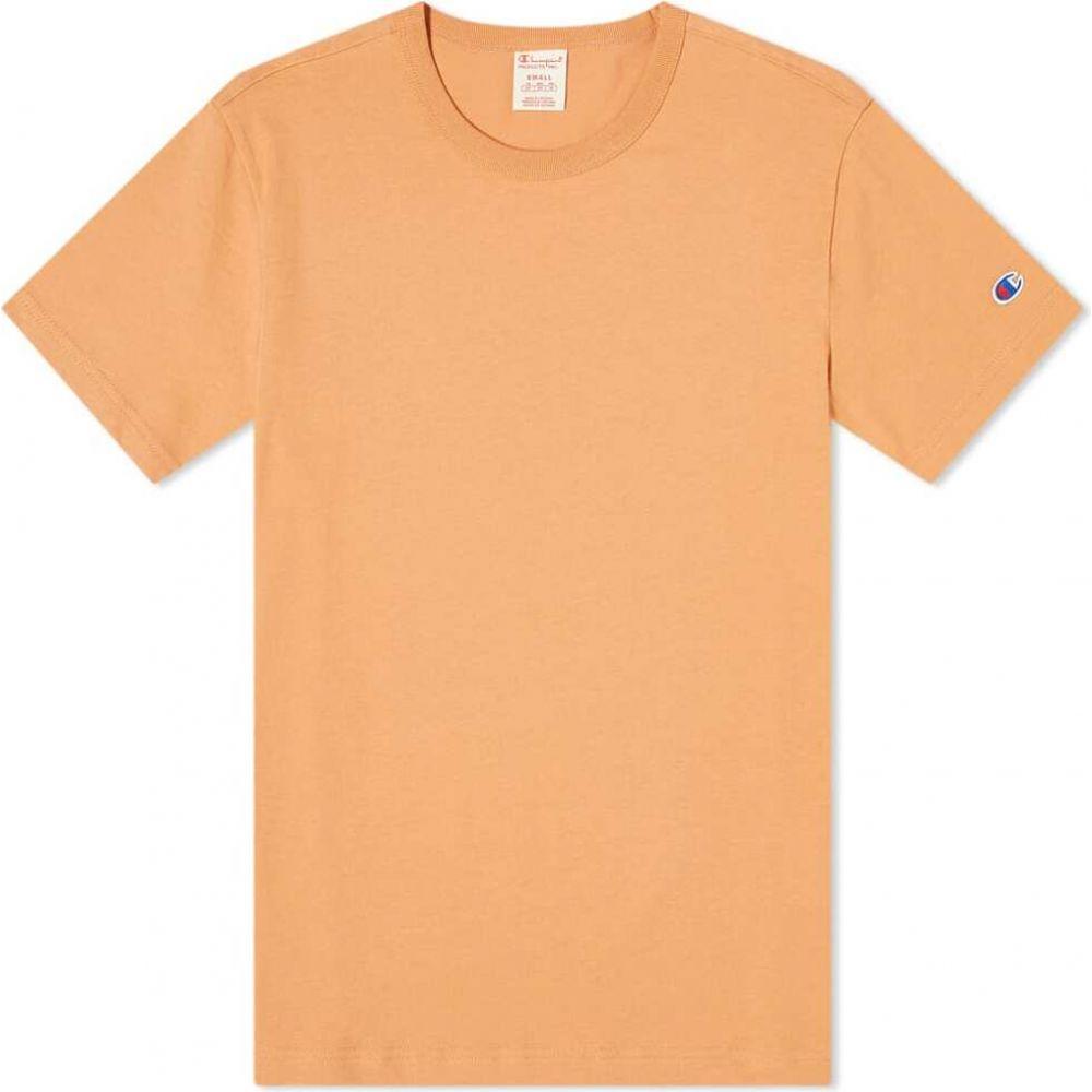 チャンピオン Champion Reverse Weave メンズ Tシャツ トップス【classic tee】Caramel Orange