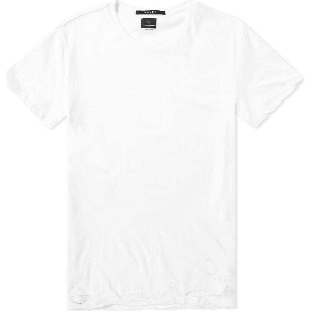 スビ Ksubi メンズ Tシャツ トップス【sioux tee】White
