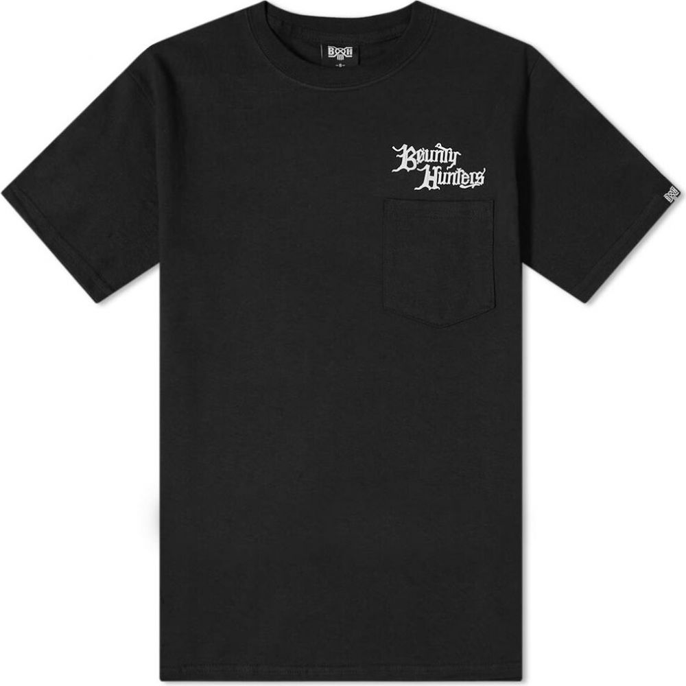 バウンティーハンター Bounty Hunter メンズ Tシャツ ポケット トップス【ra pocket tee】Black