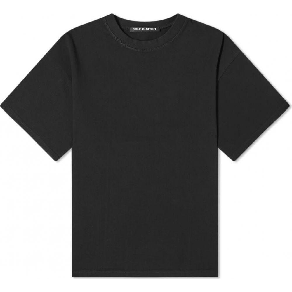 コール バクストン Cole Buxton メンズ Tシャツ ロゴTシャツ トップス【script logo tee】Black