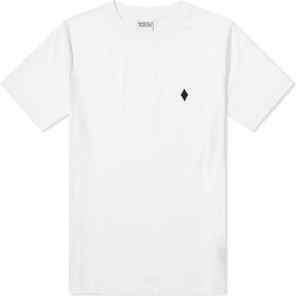 マルセロバーロン Marcelo Burlon メンズ Tシャツ トップス【cross classic tee】White/Black