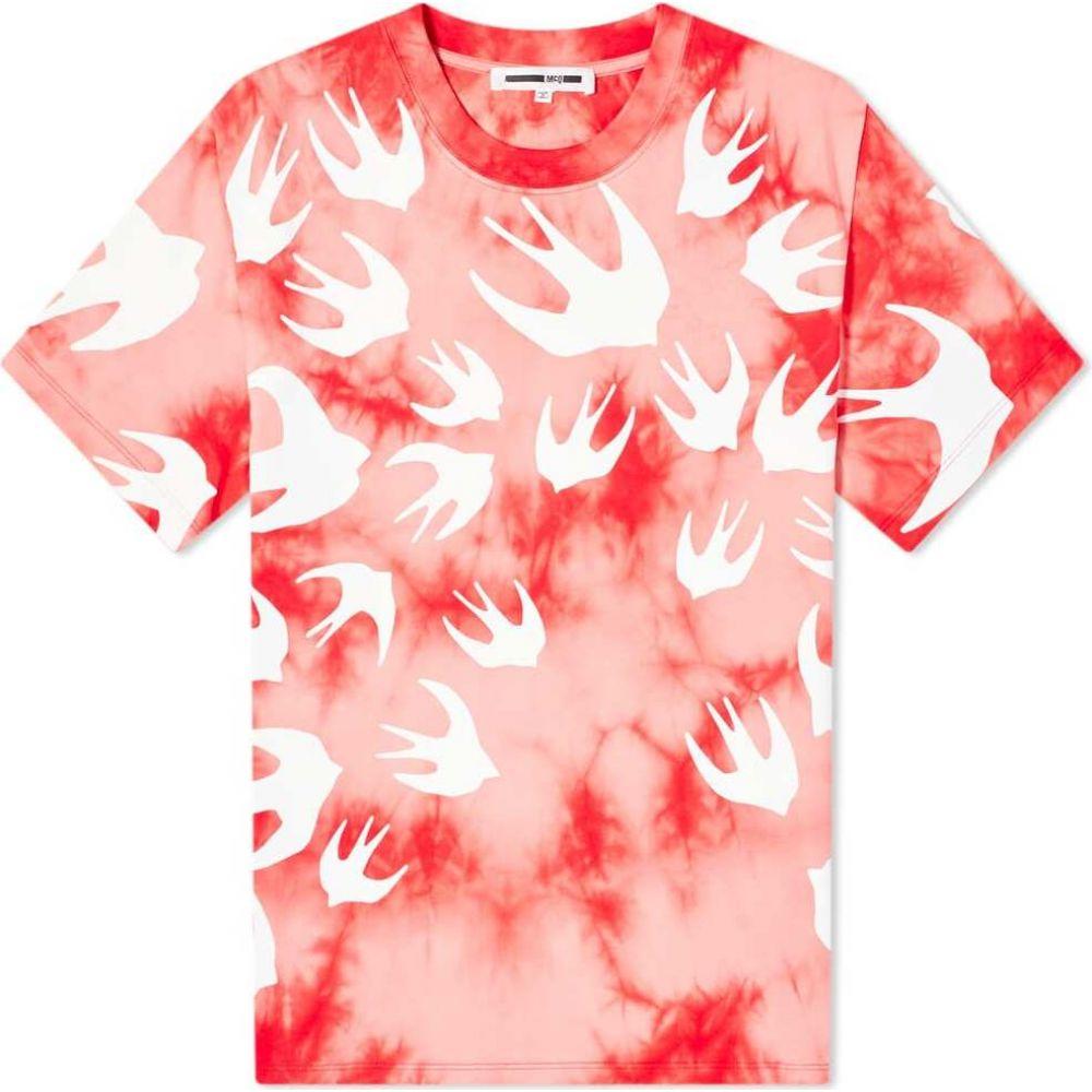 アレキサンダー マックイーン McQ Alexander McQueen メンズ Tシャツ トップス【tie dye swallow tee】Riot Red