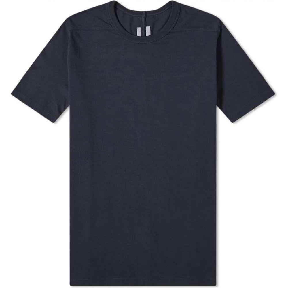 リック オウエンス Rick Owens メンズ Tシャツ トップス【level tee】Lapis