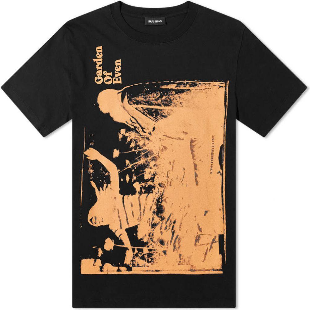 ラフ シモンズ Raf Simons メンズ Tシャツ トップス【garden of even tee】Black