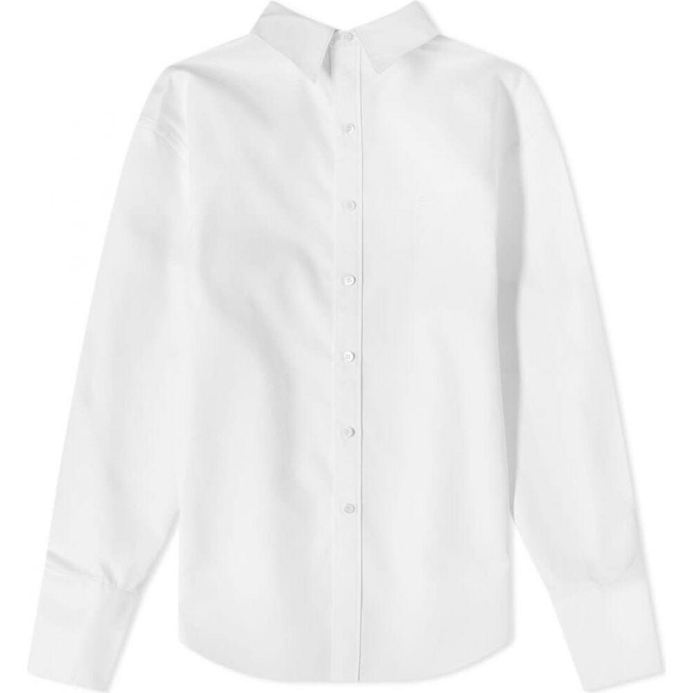バレンシアガ Balenciaga メンズ シャツ トップス【pulled shirt】White